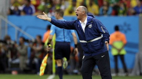 Luiz Felipe Scolari skulle gjerne ha møtt en annen motstander enn Chile i åttedelsfinalen i VM