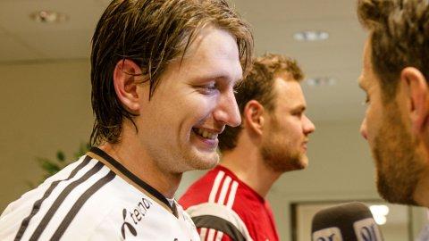 TILBAKE I VARMEN: Stefan Strandberg er tilbake på Rosenborgs førstelag etter at han nektet å spille mot Lillestrøm tidligere i juni.