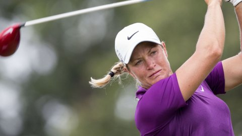 SJETTEPLASS: Suzann Pettersen slo tilbake etter en skuffende US Open.