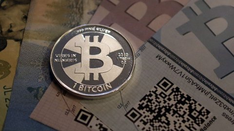 HØY RISIKO: Det er mange risikofaktorer ved bruk av virtuell valuta.
