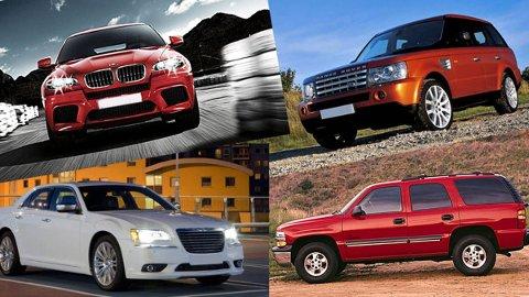 Dette er noen av bilmerkene som oftest er innblandet i ulykker.