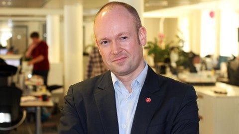 FEIL: Stortingsrepresentant Jørund H. Rytman vil fortsatt kunne betale med kontanter.