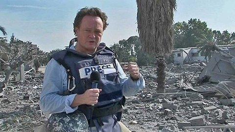 GAZA: Fredrik Græsvik, mangeårig utenriksreporter for TV2, sier han har mottatt over to tusen hatmailer.