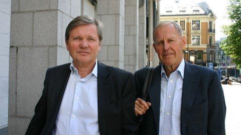 ADVOKATDUGNAD: Advokatene Arild Humlen og Jonas W. Myhre sto i spissen for Advokatforeningens aksjons- og prosedyregruppe på feltet utlendingsrett.