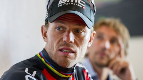 LEGGER OPP: Thor Hushovd ønsker å legge vekk sykkelen.