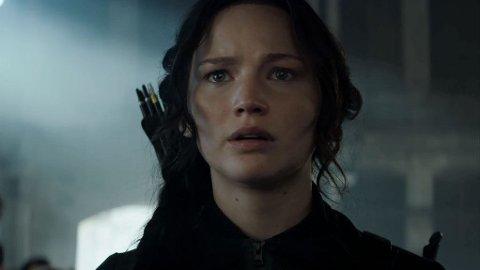 JENNIFER Lawrence er tilbake som Katniss Everdeen.