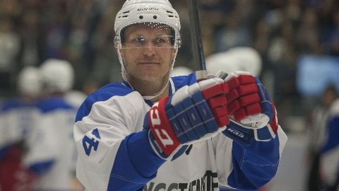 SCORER: Patrick Thoresen fortsetter å imponere i KHL, og scoret sitt andre mål på to kamper på onsdag.
