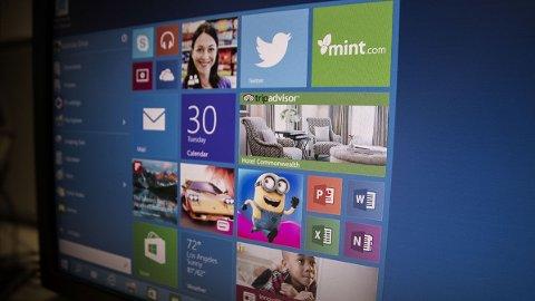 Se, det er en startmeny, akkurat som vi kunne kose oss med før Windows 8 kom i 2012.