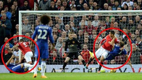 HODEGREP: Manchester Uniteds forsvarsspill har vakt reaksjoner i England.