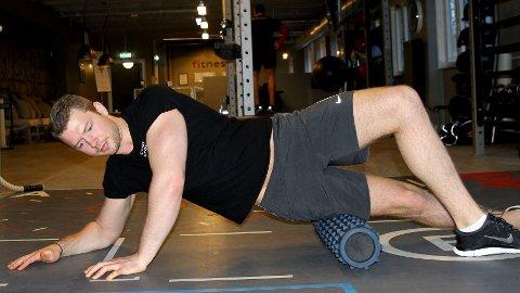 MASSASJERULLE: Uavhengig om du trener styrke eller kondisjon, så kan en massasjerulle være et godt verktøy.