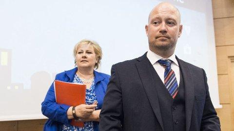 TVANGSRETURER: Justisminister Anders Anundsen (Frp) benekter at flere asylbarn enn før kastes ut av Norge.