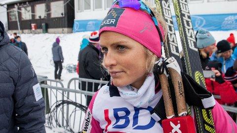 MENTAL HJELP: Therese Johaug har jobbet med idrettspsykolog for å bli bedre denne sesongen.