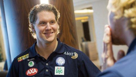 TIL FINLAND: Alexander Bonsaksen.