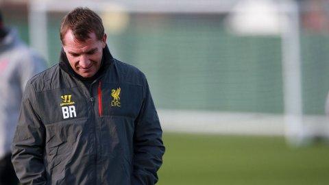 UNDER PRESS: Brendan Rodgers og Liverpool sliter på fotballbanen.