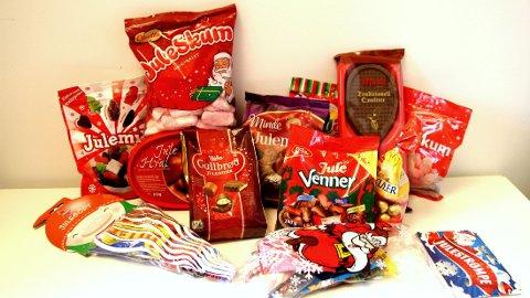 JULEGODT: Det er ikke vanskelig å tilfredstille søtsuget i desember måned.