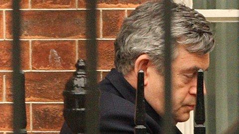 TREKKER SEG: Tidligere statsminister Gordon Brown trekker seg fra britisk politikk og stiller ikke til gjenvalg til våren.