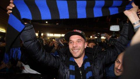 TIL INTER: Lucas Podolski skal prøve lykken i Italia.