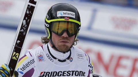 TUNG VEI TIL PALLEN: Utfordelen gikk ikke fullt så bra som Kjetil Jansrud hadde håpet.