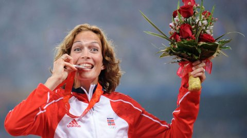 GOD SOM GULL? Kjersti Tysse Plätzer håper å få tildelt OL-gull for kappgangen over 20 kilometer i Beijing i 2008.