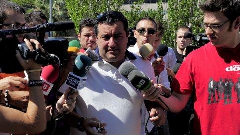 FIFA-PRESIDENT? Mino Raiola vurderer å utfordre Sepp Blatter.