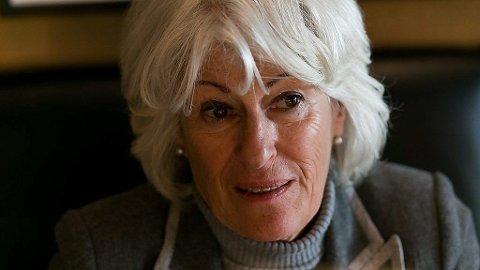 MARKERING: En stor del av Mona Levins familie ble sendt til nazistenes utryddelsesleire. Tirsdag deltok hun under markeringen av Auschwitz-frigjøringen i Kristiansand.