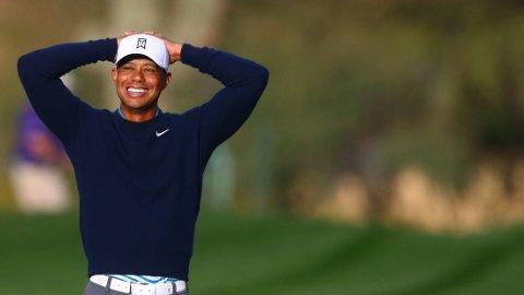 GLISER: Tiger Woods.