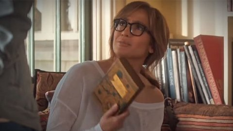 EN FORMUE: Lopez karakter mener bokgaven er for mye.