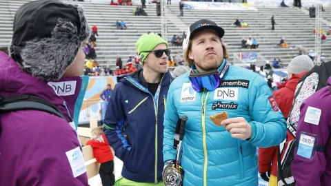 VERDENSCUPEN SAMMENLAGT: Kjetil Jansrud forteller at hans store mål for sesongen er verdenscupen sammenlagt.