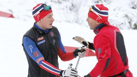 FÅR IKKE GÅ: Finn-Hågen Krogh er ikke på VM-laget til Arild Monsen.