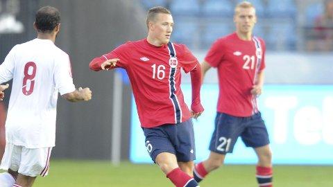 KLUBBLØS: Tidligere Aalesund-spiller, Fredrik Ulvestad, er på jakt etter ny klubb. I fjor fikk han sin landslagsdebut mot Emiratene.