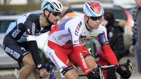 JAKTER ETAPPESEIER: Alexander Kristoff håper på å ta sin første etappeseier i Paris - Nice. Rittet begynner med prolog søndag.