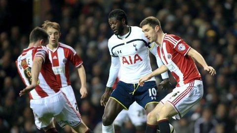 CHELSEA: Emmanuel Adebayor linkes til Chelsea.