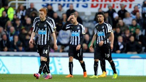 STEMNINGEN har vært bedre før i Newcastle.