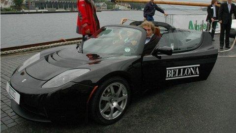 AVGIFTSDEBATT: Kan det mange Tesla-biler på norske veier undergrave legitimiteten til avgiftssystemet? Nei, mener Frederic Hauge.