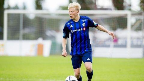 GJENNOMBRUDD: Birger Meling har imponert mange i Stabæk denne sesongen. Her fra kampen mot Bodø/Glimt på Nadderud tidligere i juni.