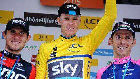 BORTE: Chris Froome sier han har gått glipp av to dopingtester i karrieren.