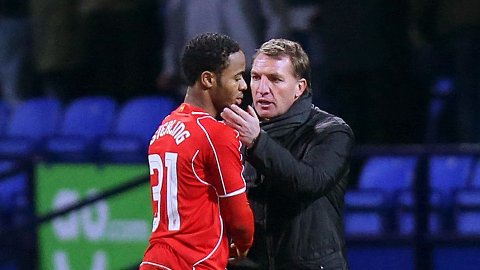 BEKREFTER: Brendan Rodgers bekrefter at Raheem Sterling forlater Liverpool.