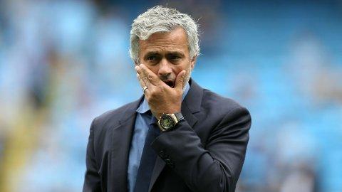 FEIL: José Mourinho mener resultatet mot Manchester City lyver.