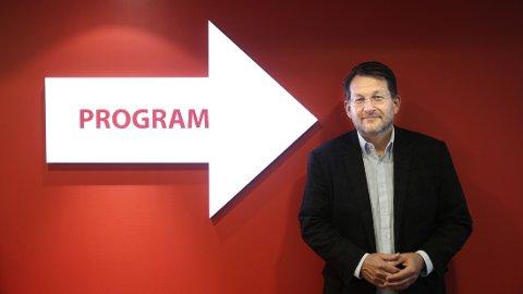 Discovery Networks og Direktør Harald Strømme lanserer ny sportskanal. FOTO: NTB scanpix