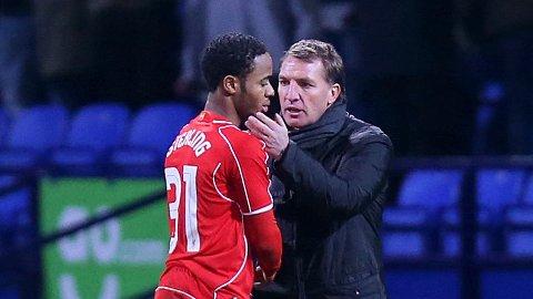 IKKE FORNØYD: Raheem Sterling likte ikke at Brendan Rodgers hintet om at han var kravstor.
