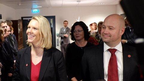 INNVANDRINGSMINISTER: Sylvi Listhaug (FrP) blir innvandrings- og integreringsminister og overtar ansvarsområder fra justisminister Anders Anundsen og likestillingsminister Solveig Horne, begge Frp.