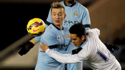 DEBUT: Bersant Celina debuterte for Manchester City.