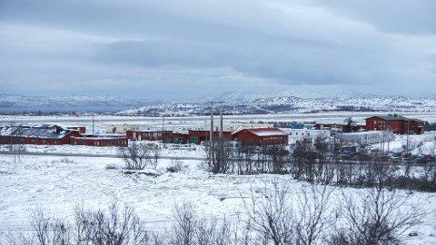Vestleiren, ankomstsenteret for flyktninger i Kirkenes, der de som har kommet over Storskog har fått opphold inntil videre.