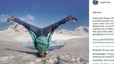SNOWGA er det nye på Instagram. Se de vakre bildene under.