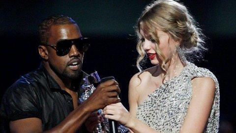 MTV: Kanye gikk i 2009 på scenen og tok prisen Taylor Swift hadde vunnet, og mente Beyonce skulle hatt den.