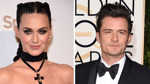 SAMMEN: Katy Perry og Orlando Bloom er et par.