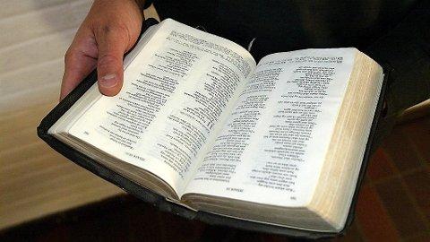 VISER TIL BIBELEN: - Bibelen forteller at ekteskapet er mellom mann og kvinne, sier ledelsen i Foreningen af Kristne Friskoler.