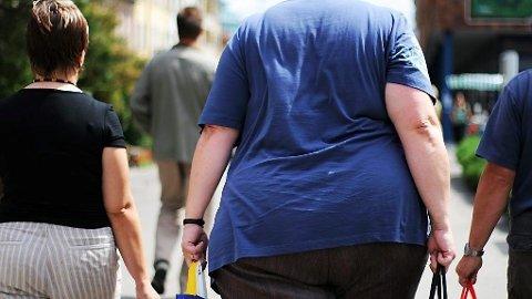 SYKELIG OVERVEKT: Stadig en større del av verdens befolkningen blir overvektige.