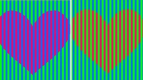 HVILKEN FARGE: Hvilke farge er det på hjertene?
