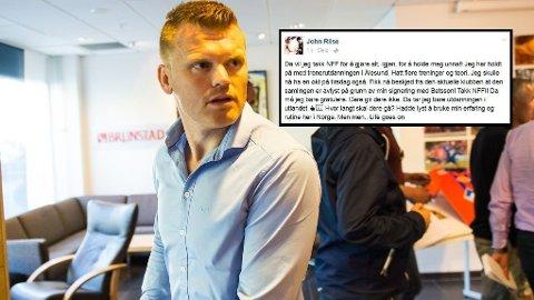 NY KONFLIKT: John Arne Riise er mektig irritert på Norges Fotballforbund etter at en planlagt treningssamling ble avbrutt etter at han signerte for Betsson.